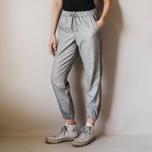 Topshop High Waist Relaxed Trouser Track Pants